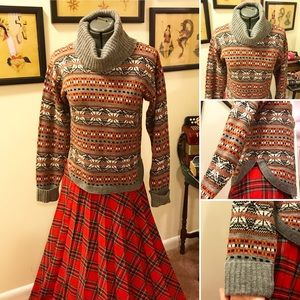 Vintage 70's wool sweater